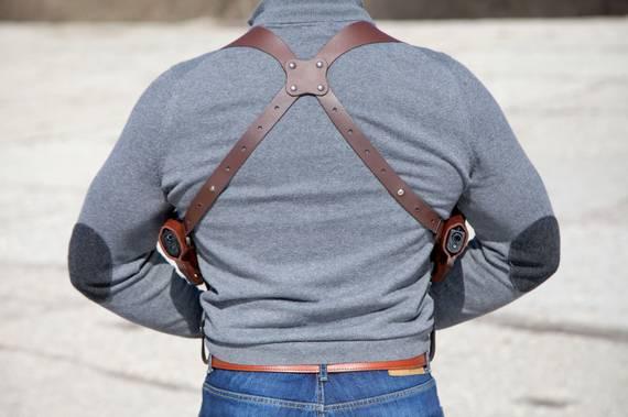 Double Shoulder Holster System