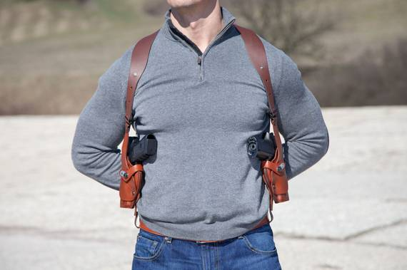 Double Vertical Roto Shoulder Holster