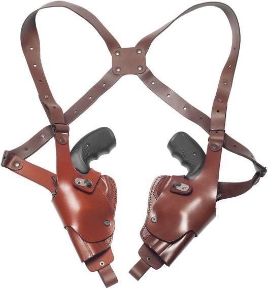 Double Vertical Roto Shoulder Holster