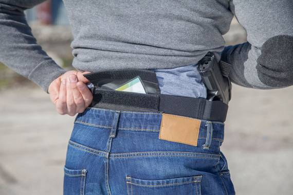 Elastic Belly Band Holster