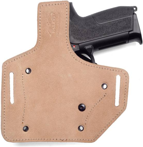 Exclusive Kydex Belt Holster with Leather Platform
