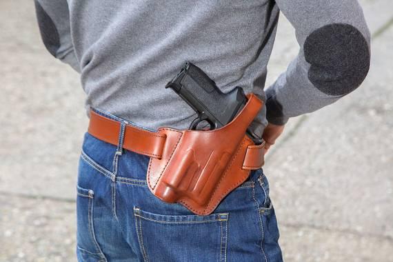 GTL-11 Leather Belt Holster