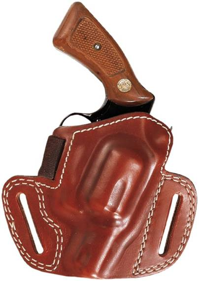 High Ride Leather Belt Holster
