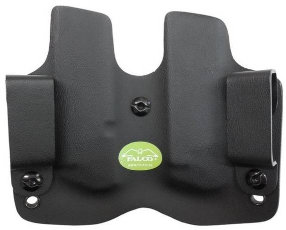 Kydex Pistol Double Mag Pouch