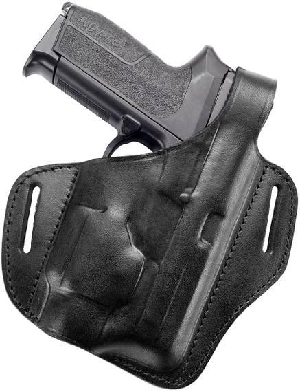 Leather Holster for Gun w Light