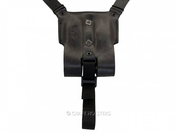 Leather Counterbalance for Shoulder Holster