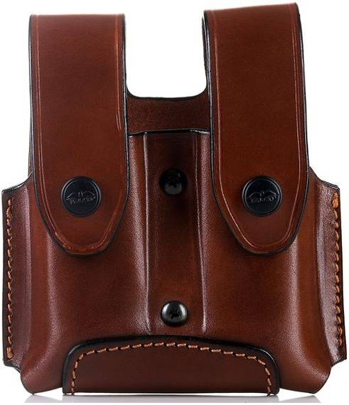 Leather Double Mag Pouch