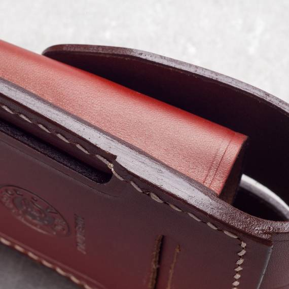 Leather Double Mag Pouch (Double Stack)