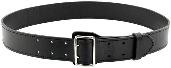 Leather Duty Belt, 2 inch