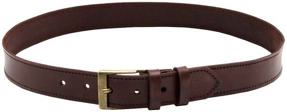 Leather Gun Belt, 1.5 inches