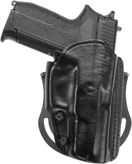 Leather Paddle/Belt Holster