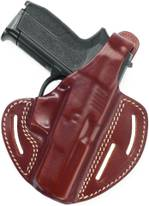 Leather Pancake Holster w 2 Carry Positions