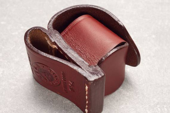 Leather Speedloader Pouch