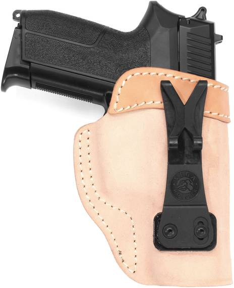 Leather Tuckable Holster for Concealed Carry