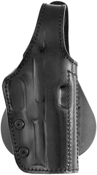 Lined Leather Paddle Holster