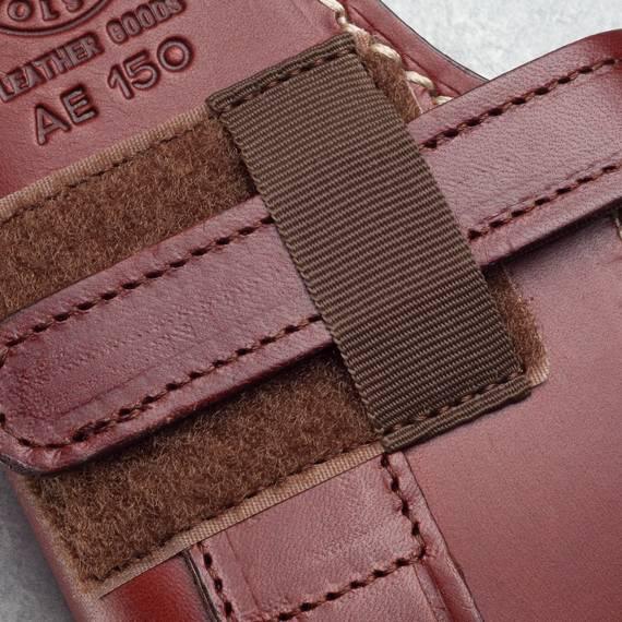 Lined Leather Vertical Shoulder Holster