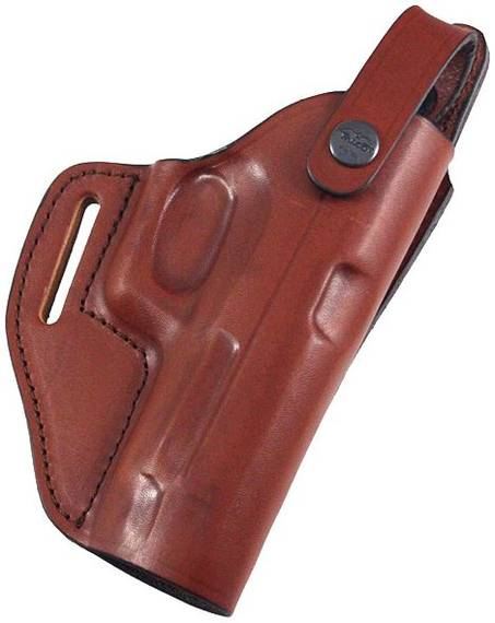 Lined Universal Leather Belt Holster