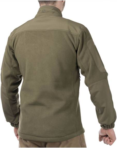 Multi-Functional Fleece Sweatshirt Perseus - Olive