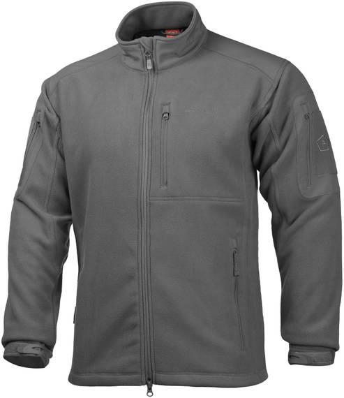 Multi-Functional Fleece Sweatshirt Perseus - Wolf Gray