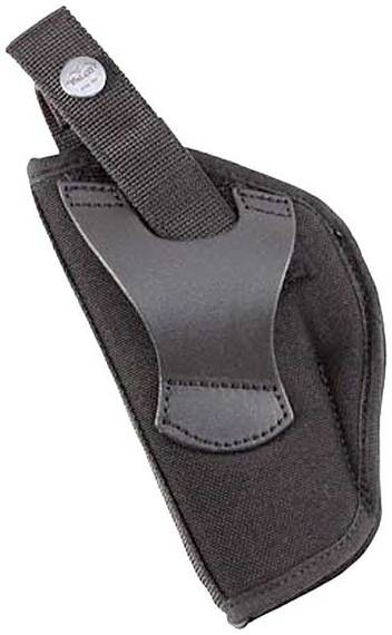 Nylon Belt Holster with Leather Belt Tunnel