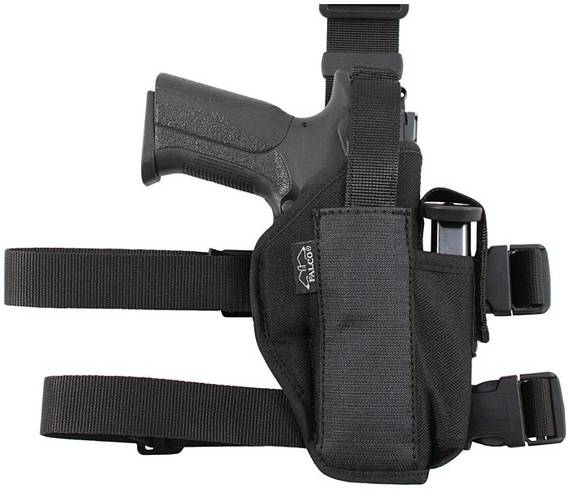 Nylon Tactical Holster w. Extra Mag