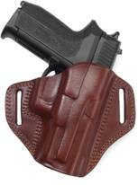 Open Top Leather Belt Holster