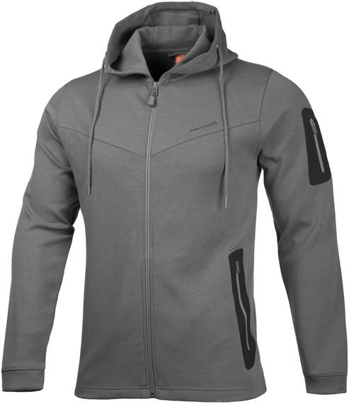Outdoor Multi-Functional Hoodie Pentathlon - Cinder Gray