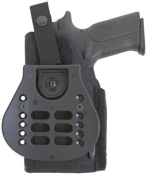 Paddle Holster for Gun with Laser/Light