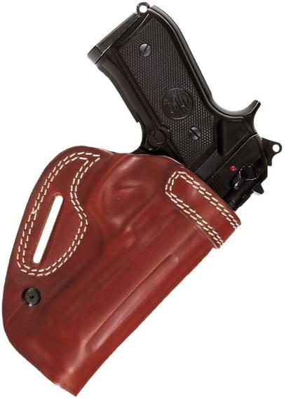 Reinforced Leather Belt Holster