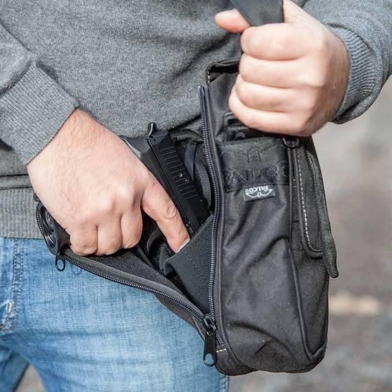 Shoulder Bag for Concealed Carry