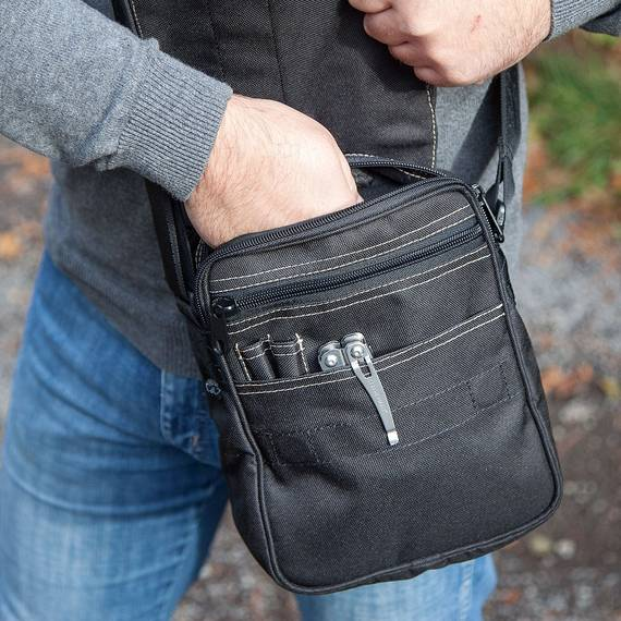 Shoulder Bag for Concealed Carry