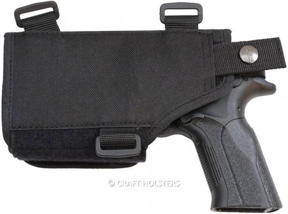 Shoulder Holster For Gun with Light/Laser