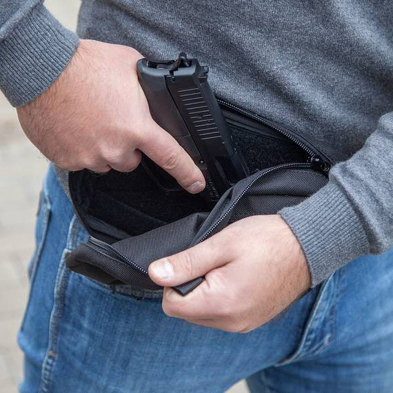 Simple Fanny Pack for Concealed Carry