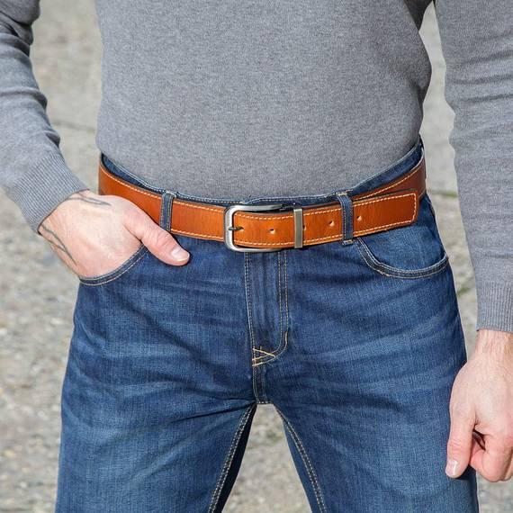 Sturdy Leather Gun Belt
