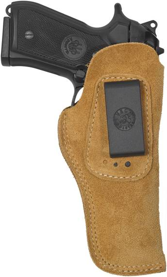 Suede IWB Holster w. 3 Cant Positions