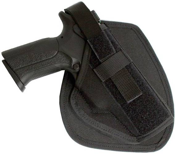 Tactical Gun Holster with Molle