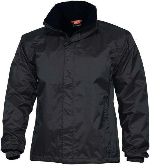 Tactical Rip-Stop Rain Jacket Atlantic - Black