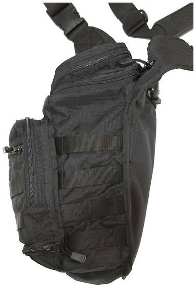 Tactical Shoulder Bag for Concealed Gun Carry