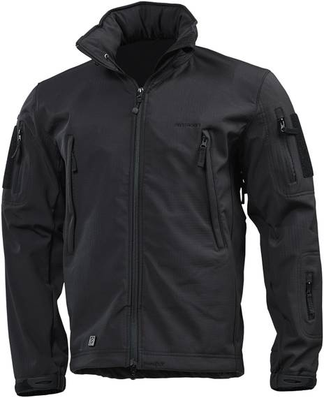 Tactical Soft-Shell Jacket Artaxes - Black