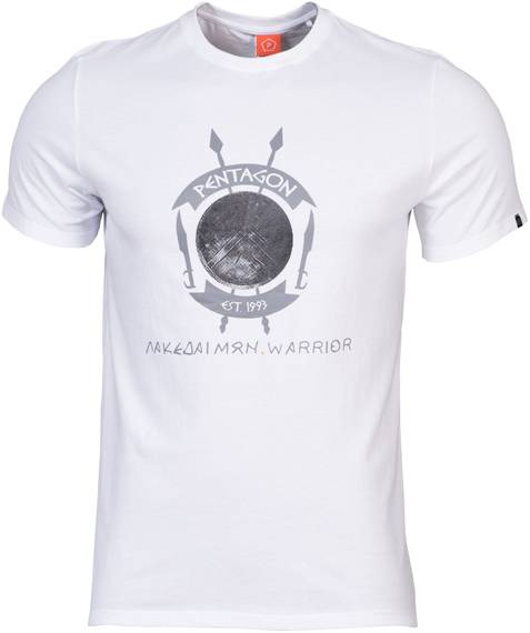 Tactical T-Shirt Lakedaimon Warrior - White