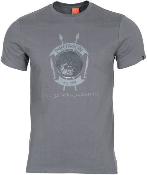 Tactical T-Shirt Lakedaimon Warrior - Wolf Gray