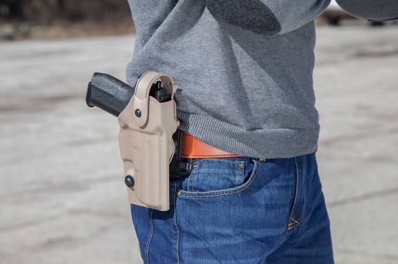 Thermo Molded Duty Holster