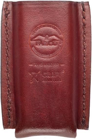 Tuckable IWB Leather Gun Magazine Pouch