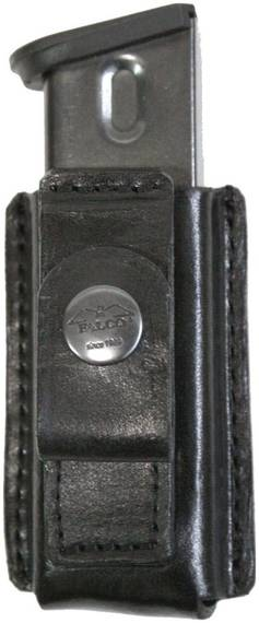 Tuckable IWB Leather Gun Magazine Pouch