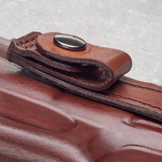 Tuckable Leather Concealed Carry Holster