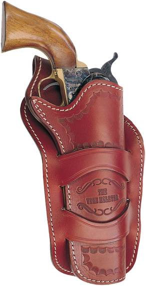 Western Cross Draw Leather Holster