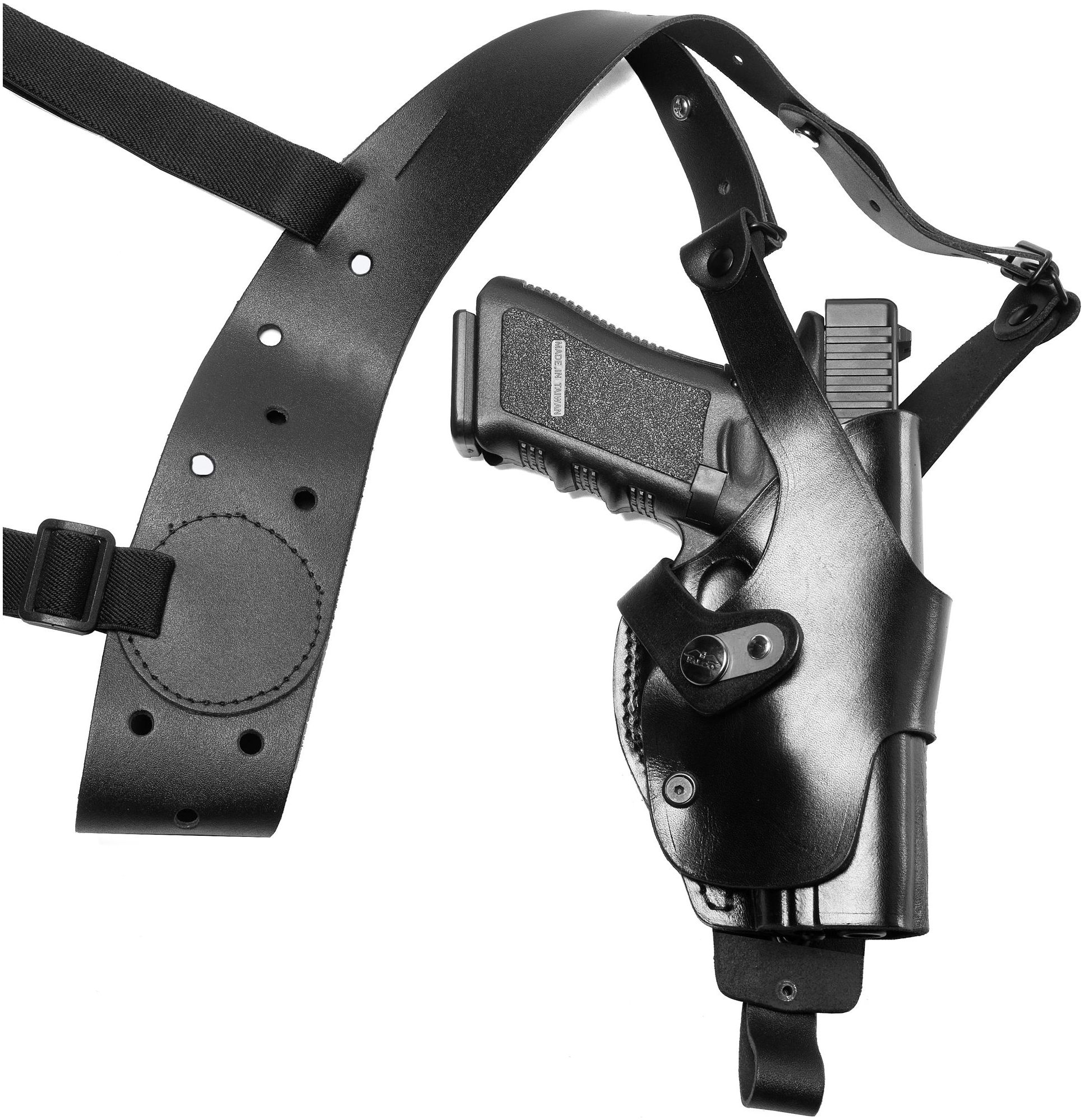 Falco Holsters Vertical Roto-Shoulder holster system for Glock 21