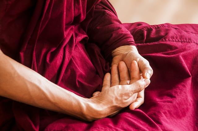 Postura meditación