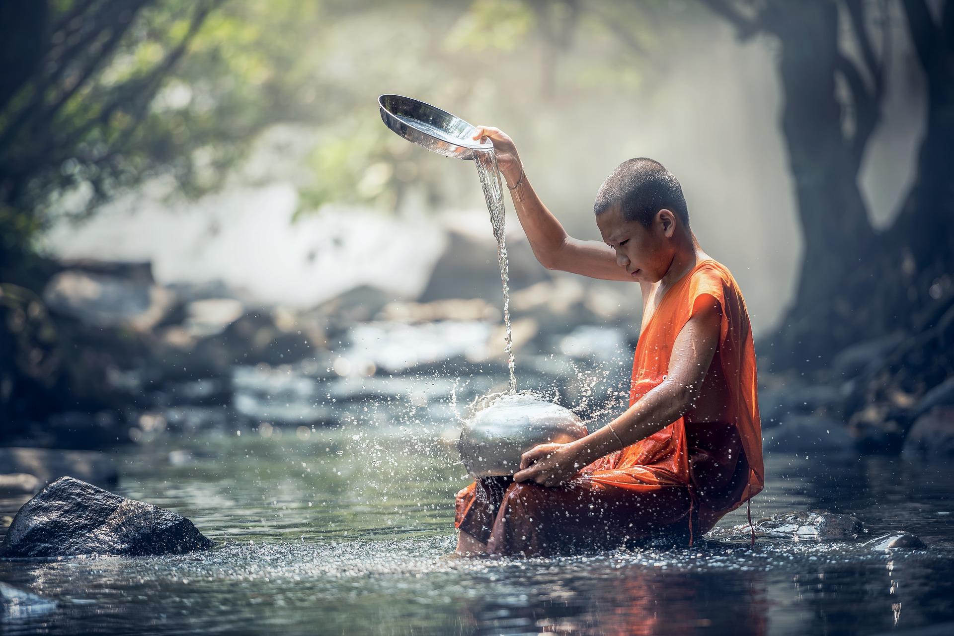 Budismo agua Vipassana