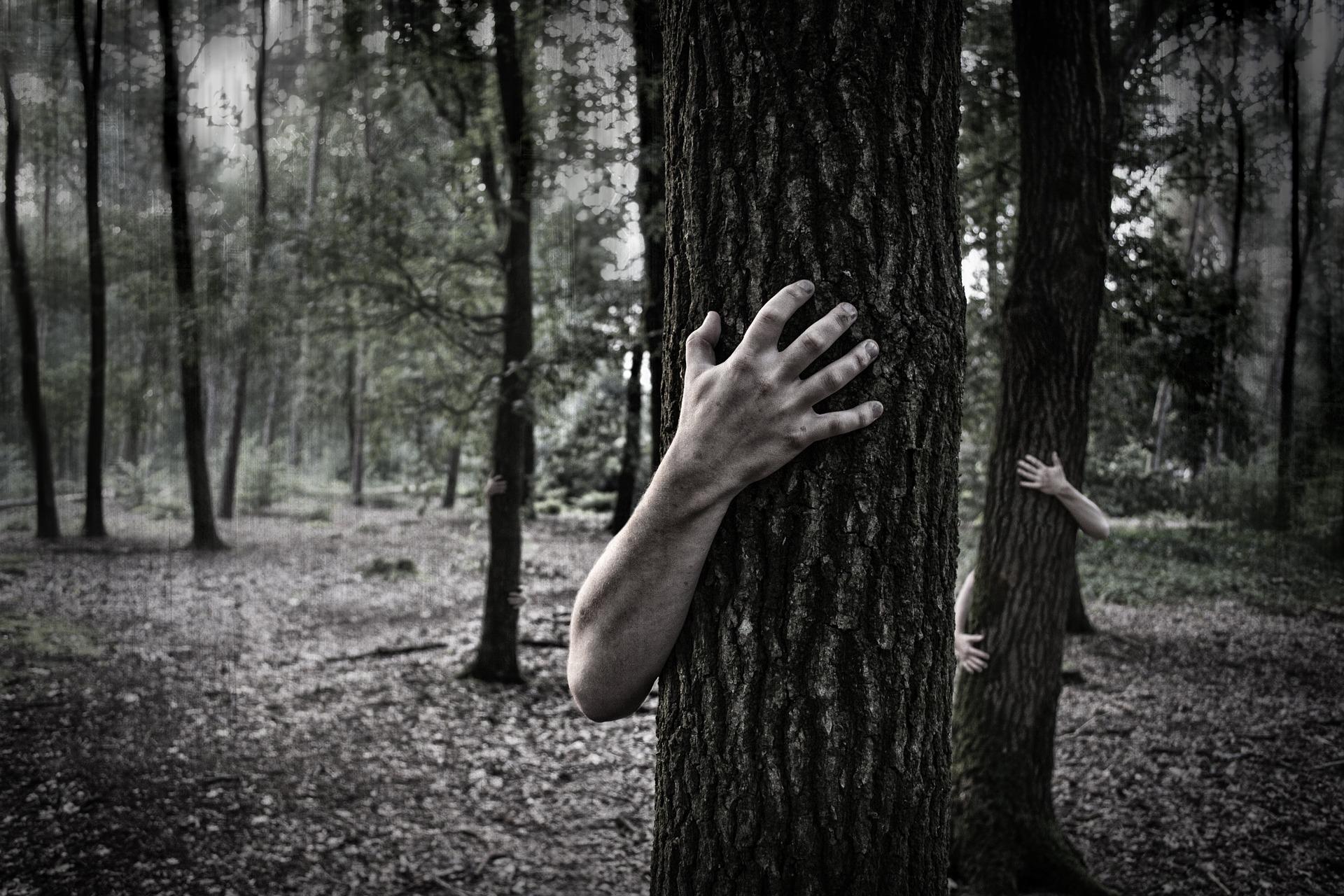 Personas bloqueadas por el miedo
